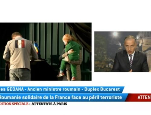mircea geoana La roumanie solidaire de la France