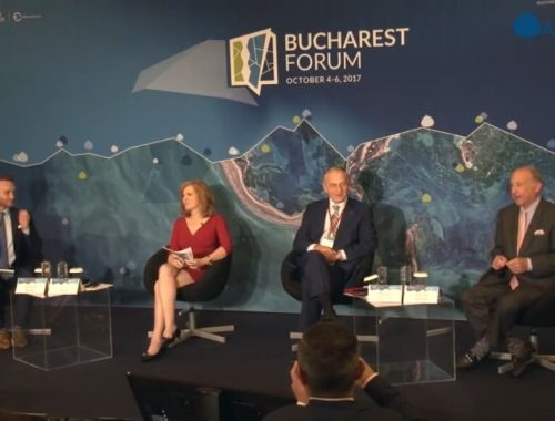 mircea geoana trump views bucharest forum aspen tv